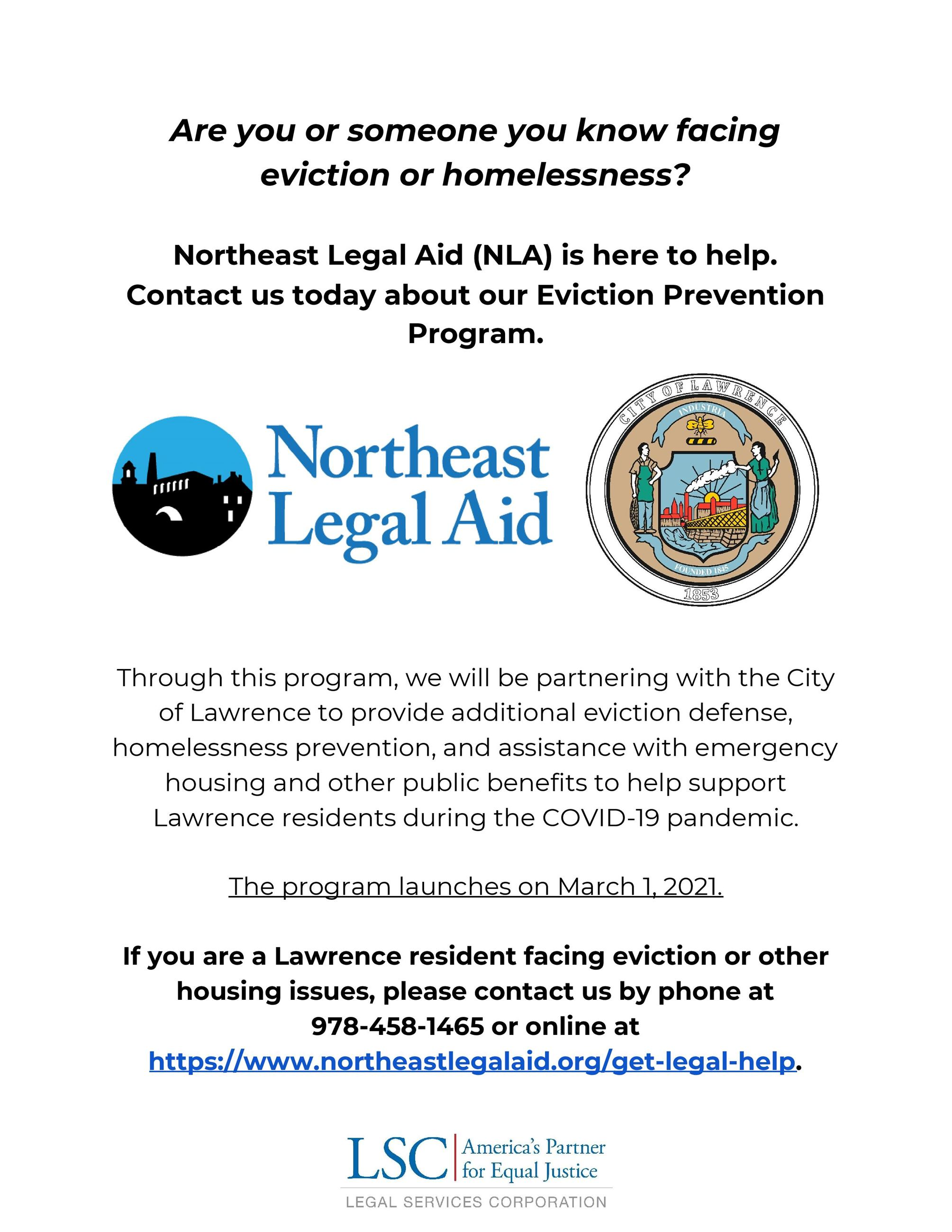 Eviction Prevention Program
